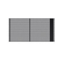 Écran de barre mené par grille ultra légère