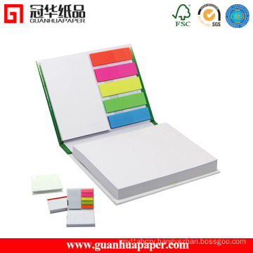 Promotion Gift Leather Cover Sticky Note Book