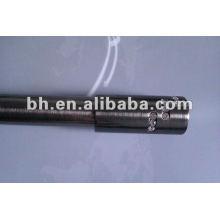 16 / 19mm schwarzer Nickeldiamant flexibler Vorhangstab
