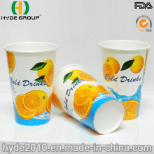 12oz Free Samples Cold Beverage Paper Cup for Juice