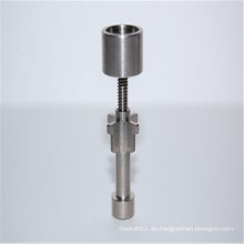 Drop Top - Verstellbarer 18mm Dome Titanium Nail für Tabak (ES-TN-043)