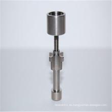 Drop Top - Ajustable 18mm Dome Titanium Clavo para el tabaco (ES-TN-043)