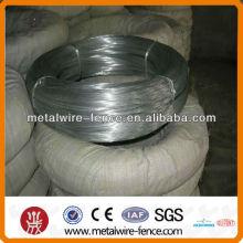 Pesado de zinco e fio de ferro revestido galvanizado (fabricação e fábrica)