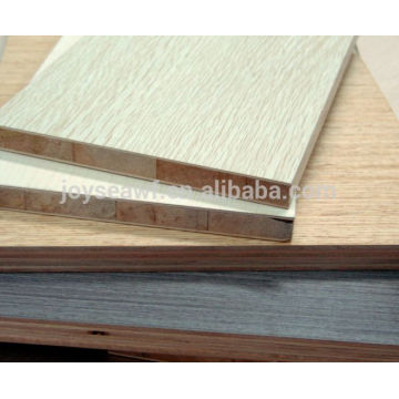 melamine Laminated blockboard, 4*8 poplar Block board