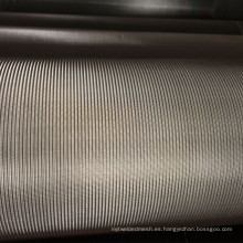 Malla de alambre del acero inoxidable de la armadura holandesa de 316 316L 1 Micron con el alto filtrado de Precison