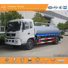 DONGFENG 10000L 4500mm RHD fecal suction tank truck