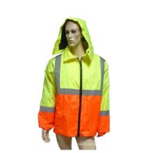 Новый тип Отражательная пальто безопасности с Оксфорд Водонепроницаемый