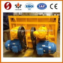 Manganese Steel blade concrete twin shaft mixer