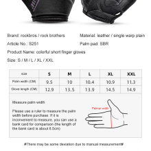 SBR Shock Absorbing Palm Pad Breathable Mountain Bike Mountain Bike Riding Gloves Half Finger Gloves