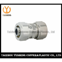 Forged Brass Fitting with Two Cap Nuts for Aluminium Plastic Composite Pipe (YS3306)