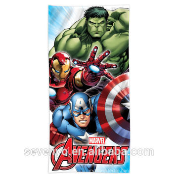 hotsale hero pattern Beach Towel 100% cotton BT-105