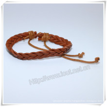 Leather Bracelet, Bracelet Men, Leather Wrap Bracelet (IO-CB161)