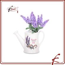 Kedali peintures en céramique fleur de jardin en céramique