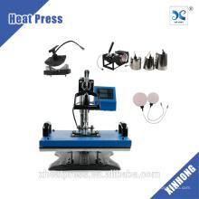 ¡CALIENTE! 8 in1 Como máquina de prensado térmico HP8IN1