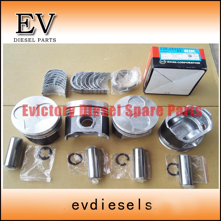 V2203 piston and bearing