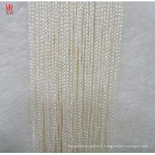 1 mm Forme de riz Freswater Pearl Strands (ES383)