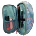 Travel Printed Leinen Kosmetiktasche Beauty Case