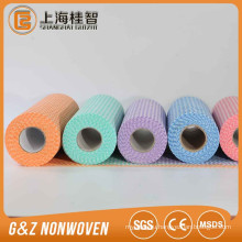 Viscose nonwoven floor cleaning cloth 31*35cm BLUE PINK YELLOW