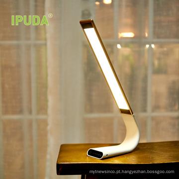 2017 IPUDA Q3 Criativo moda Led Luzes estudantis dormitório lâmpada de mesa de estudo