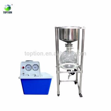 Máquina de filtro de vacío Chemical 10 20L 30L 50L resistente a la corrosión