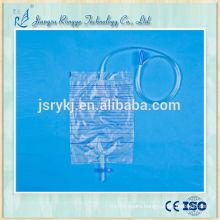 Disposable Sterilized 2L medical urine bag