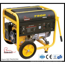 6000W Nennleistung ökonomisch offen Silent Benzin-Generator WH7500-K