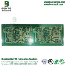 8 camadas Multilayer PCB IT180 PCB 1oz ENIG 3U
