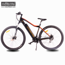 2017 Hot selling 26'' BAFANG mid drive electric mountain bike,green cheap ebike made in china