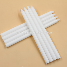 white color parriffin candle solid candles