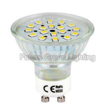 LED GU10 Bulb 3W 260lm 2 ans de garantie à USD 1.00 / PC