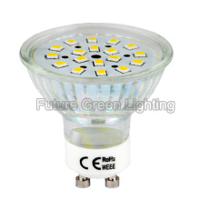 LED GU10 Bulb 3W 260lm 2year Warranty at USD 1.00/PC