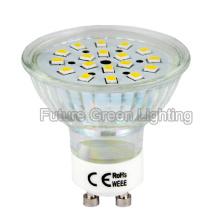 LED GU10 Lâmpada 3W 260lm 2 anos Garantia em USD 1,00 / PC