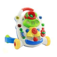 Juguete de plástico cochecito de bebé de música (h0001160)