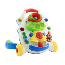 Plastic Toy Music Baby Stroller (H0001160)