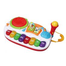 Jouet électrique de musique de jouet avec microphone (H0001222)
