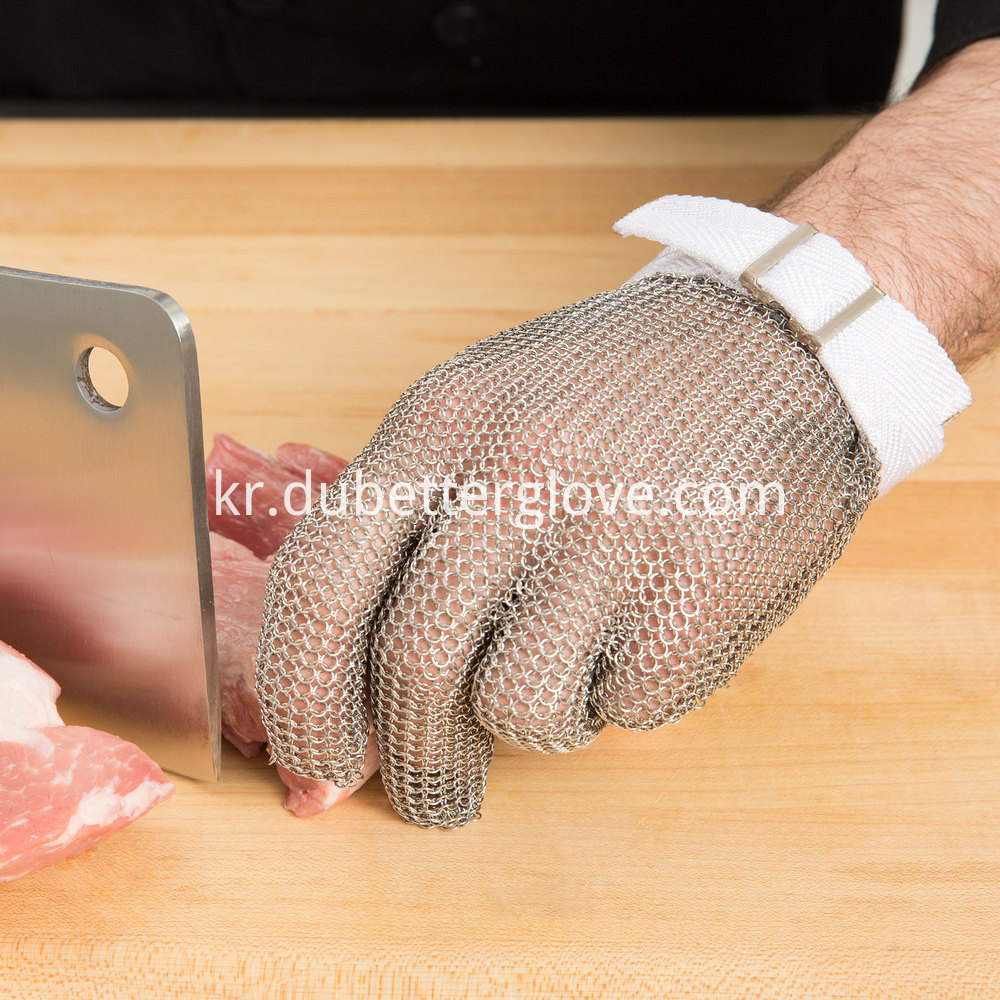 meat processing mesh glove