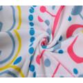 Polyester Handtuch Print runde Tischdecke verwendet