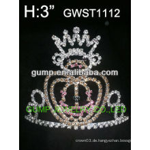 Halloween Kürbis Kristall Krone -GWST1112