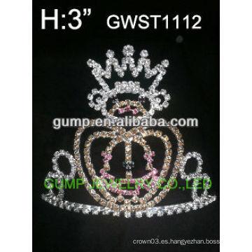 Corona de cristal de calabaza de Halloween -GWST1112
