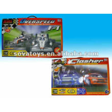 Battery Operated Track Rail Racing Car Toy