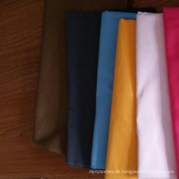 gewebte Rayon Polyester Shirt einheitliche Stoff Fabrik