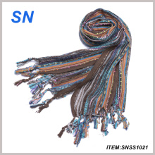 2015 U. S. a Spring Mutil Metallic Technicolor Scarf