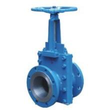 Válvula de compuerta de lodo de hierro fundido o aluminio