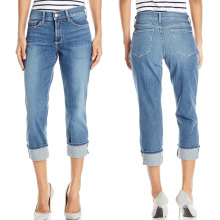 Wholesale Women′s Short Jeans Denim Cotton Pants