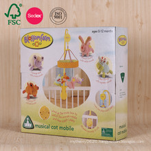 Color Corrugated Box Packaging for Baby Gifts