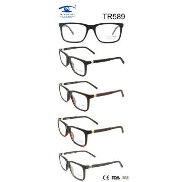 Brillante Tr90 Óptico Frame Gafas (TR589)