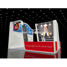 6x6 exhibition booth design portable trade show display system export to abroad