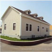 Villa de estructura de acero ligera prefabricada