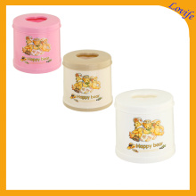 Love Design Top Cone Plastic Tissue Boxes (FF-5013-3)