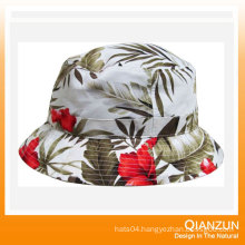 Custom Design Label Logo Popular Floral Bucket Cap